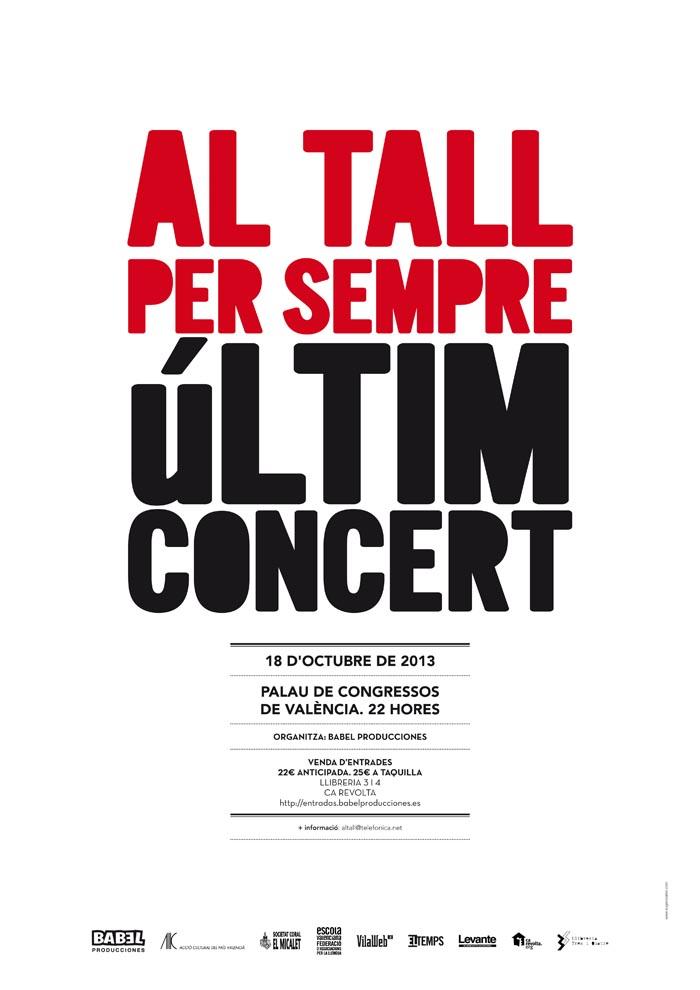 Últim concert Al tall (València)